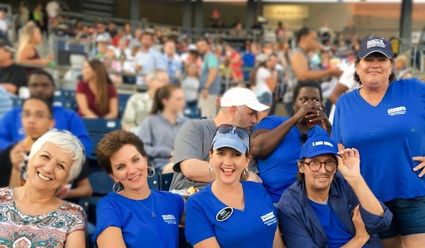 """Having At """"Ball"""" At The Realtor Day On The Field T-Shirt Photo"""