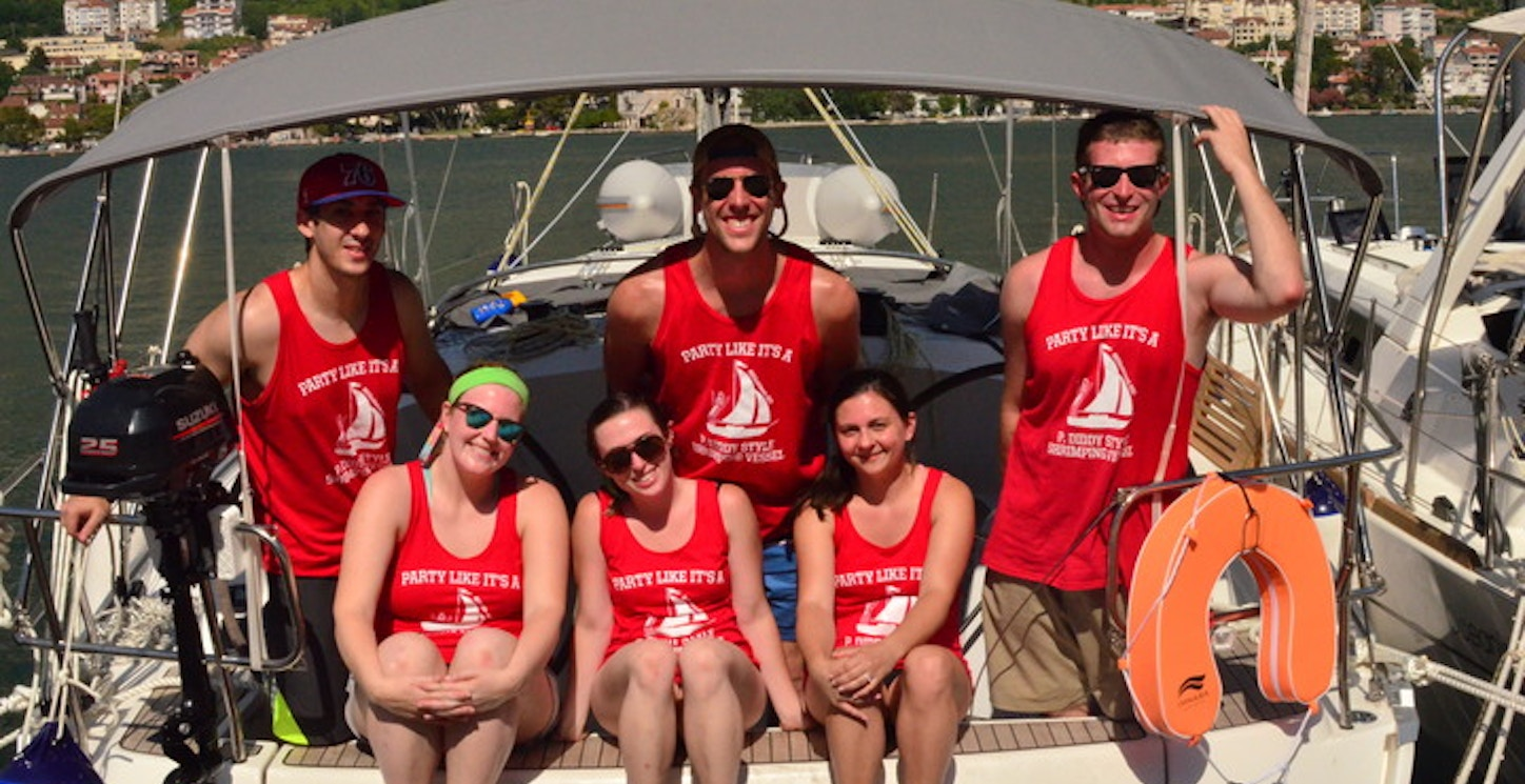 Sailing Adventures With Friends T-Shirt Photo