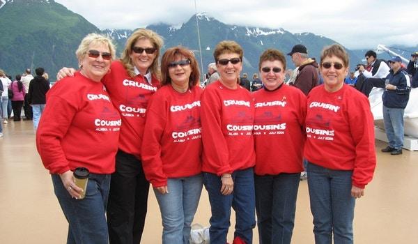 Crusing Cousins Cruise Alaska T-Shirt Photo