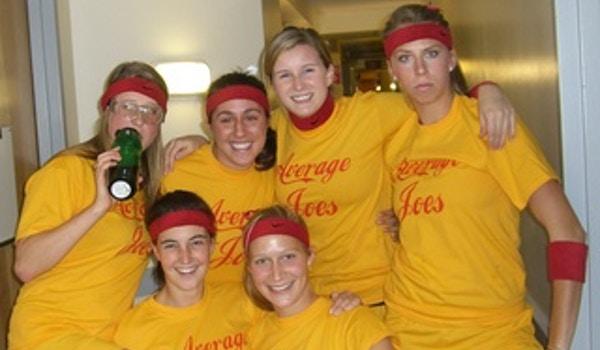 Average Joe's Dodgeball Team T-Shirt Photo