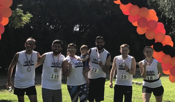 After The 5k T-Shirt Photo