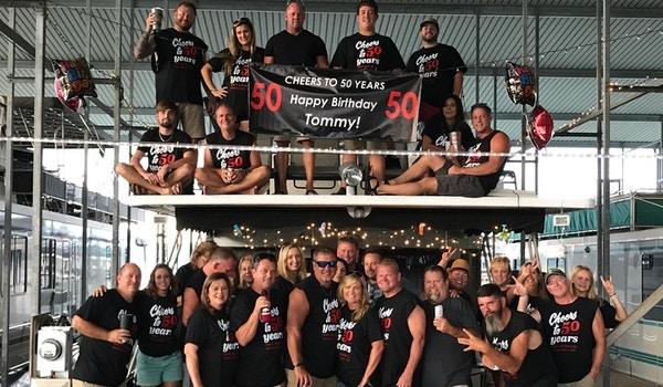 50th Birthday Celebration!!! T-Shirt Photo