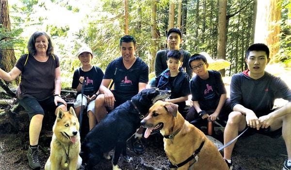 Piano Camp Hiking Day T-Shirt Photo