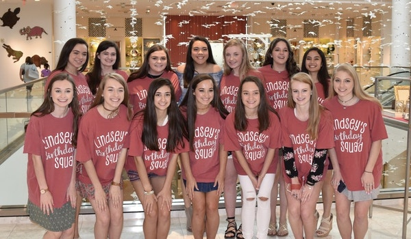 Lindsey's Birthday Squad T-Shirt Photo