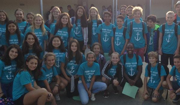 Graham Middle School Home Team Captains T-Shirt Photo