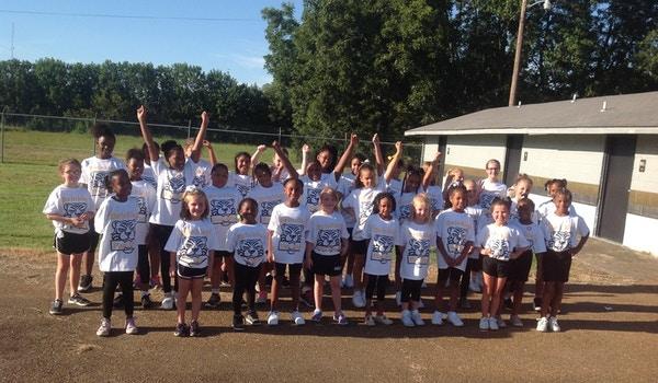 Brinkley Pee Wee Cheerleaders T-Shirt Photo