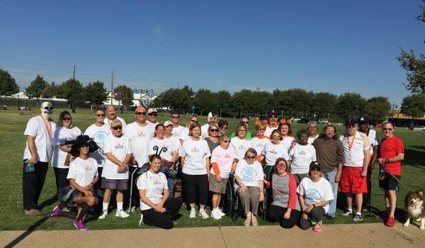Team Bind Walks For Brain Injury Awareness In Texas T-Shirt Photo
