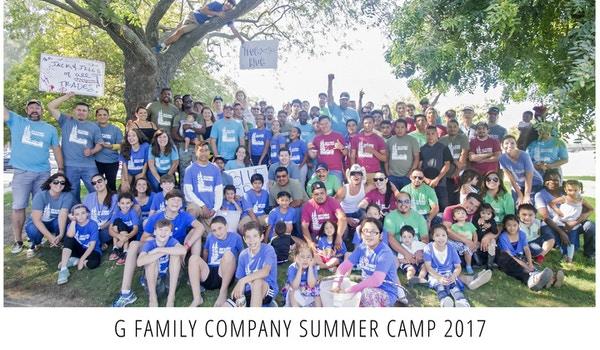 G Family Company Summer Camp T-Shirt Photo