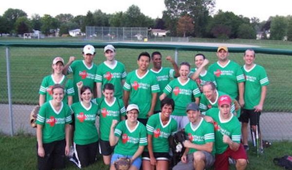 Scut Monkeys Softball Wins! T-Shirt Photo