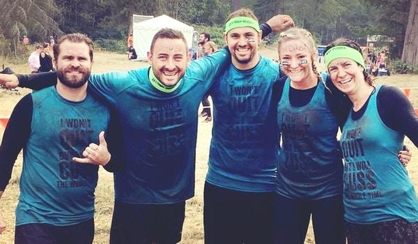 Muddy Cussing Tm Finishers T-Shirt Photo