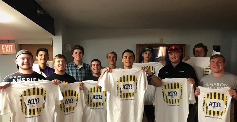Fraternities Love Custom Ink Shirts!! T-Shirt Photo