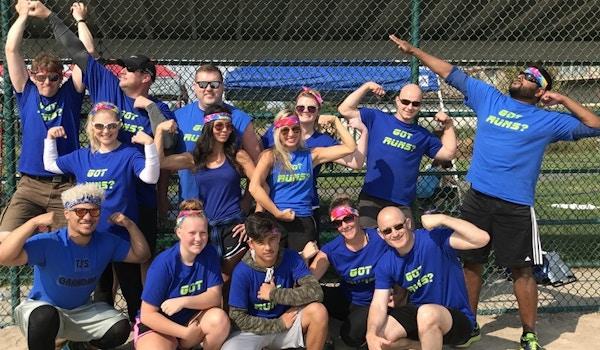 We Got The Runs! Kickball Champs! T-Shirt Photo