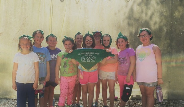 Girl Scouts Never Give Up! T-Shirt Photo