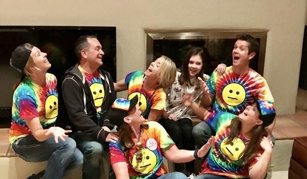 Fake Family Photo At Jenstock T-Shirt Photo