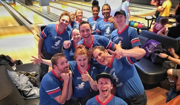 The Magical Beavers In Their Natural Habitat (The Bowling Alley) T-Shirt Photo