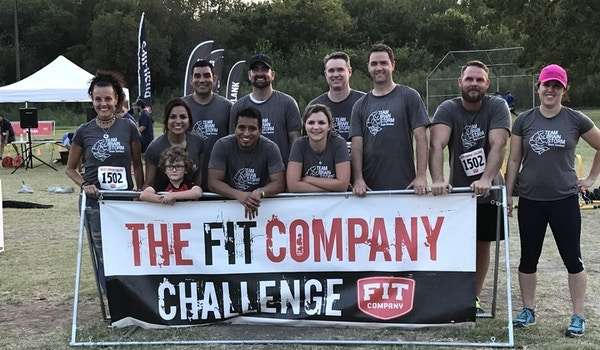 Team Brain Storm In The House At Fit Company Challenge T-Shirt Photo