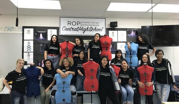 Central High School East Rop Fashion Design T-Shirt Photo