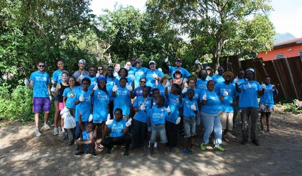 Rusvm Day Of Service On St. Kitts Island! T-Shirt Photo