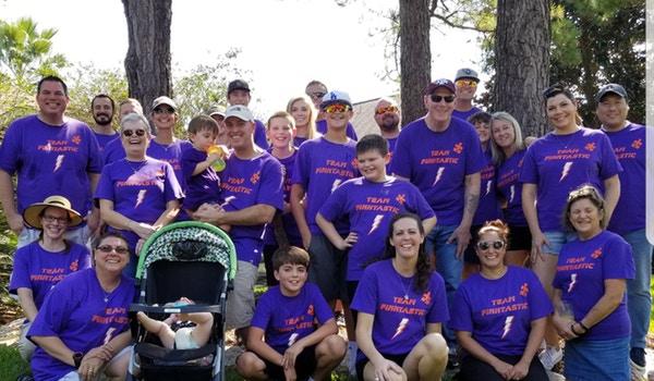 Team Finntastic Autism Walk 2017! T-Shirt Photo