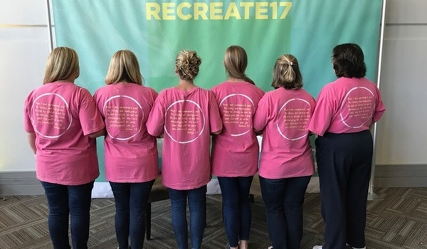 Ladies Of Recreate17 T-Shirt Photo