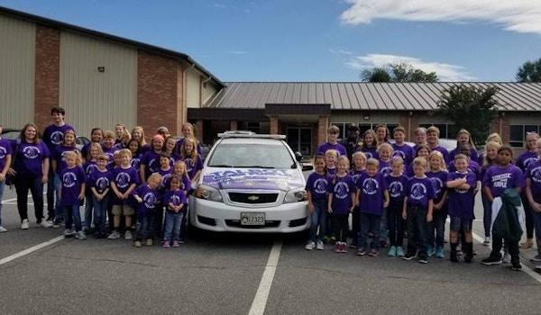 Talbot Goes Purple T-Shirt Photo
