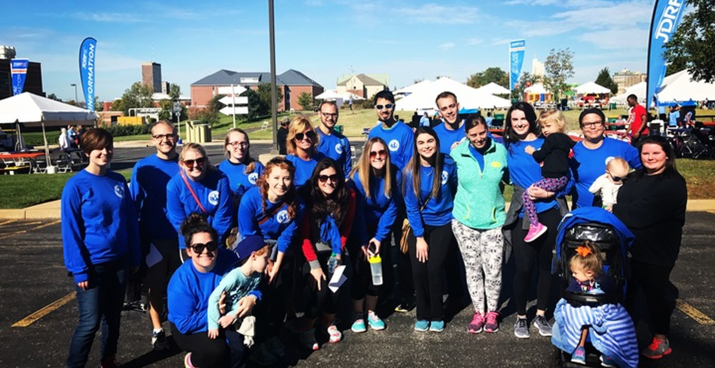 Jdrf Walk To Cure Type 1 Diabetes  T-Shirt Photo