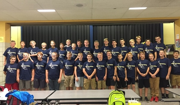 Kiski Area Junior High Boys Soccer Winning Season Shirts T-Shirt Photo