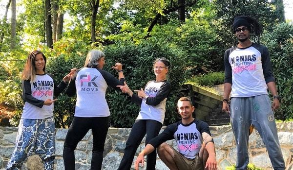 Ninjas Fighting Cancer  T-Shirt Photo