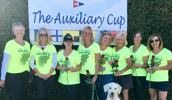 Auxiliary Cup Sailboat Racing T-Shirt Photo