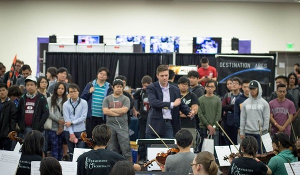 The Intermission Orchestra At Triton Gaming Expo 2017 T-Shirt Photo
