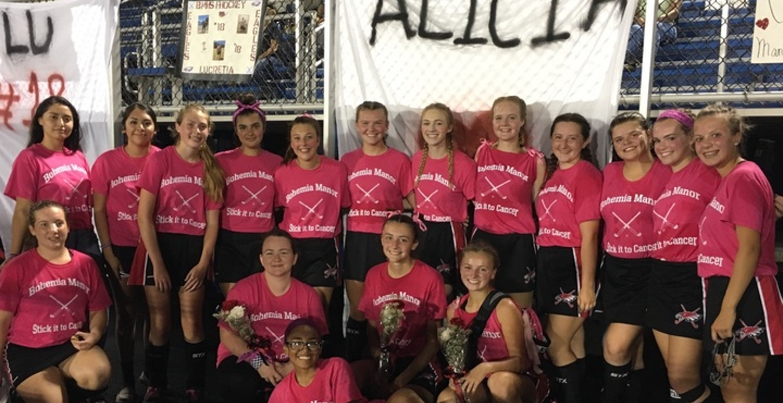 Bo Field Hockey   Breast Cancer Awareness Game T-Shirt Photo