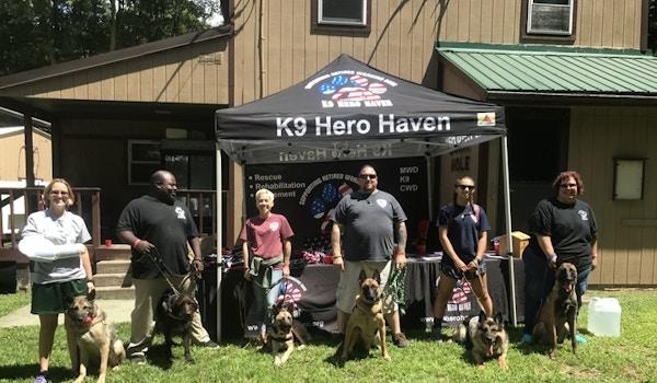 K9 Hero Haven  T-Shirt Photo