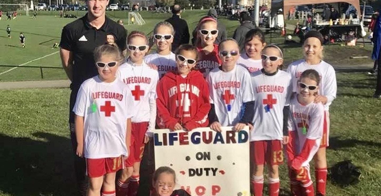 Lifeguards On Duty T-Shirt Photo