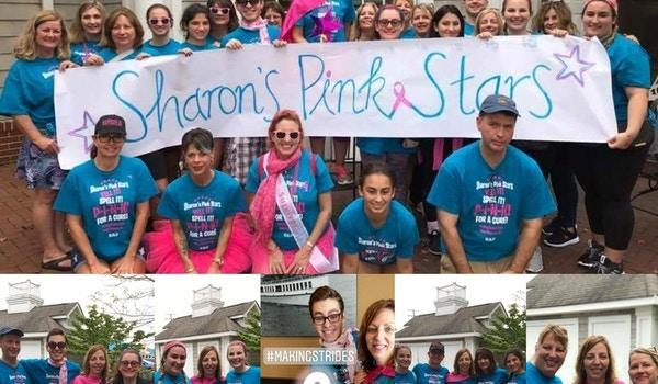Sharon's Pink Stars T-Shirt Photo