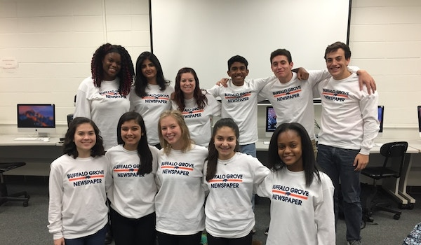 The Charger Student Newspaper Rocking Our Custom Shirts T-Shirt Photo
