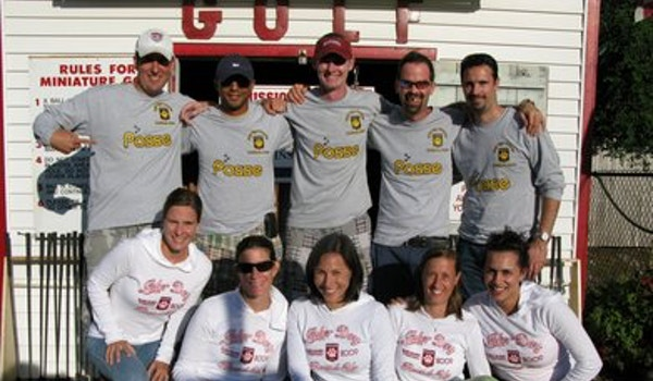 4th Annual Tiger Posse Cape Cod Roundup T-Shirt Photo