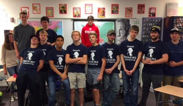 Reedsburg A.P. U.S. History T-Shirt Photo