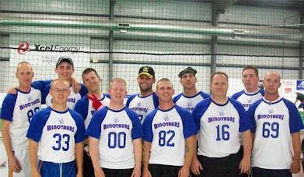 Minotaur Football Team T-Shirt Photo