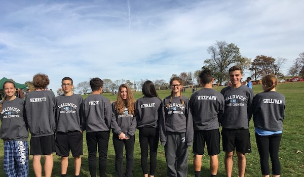 Cross Country In Action T-Shirt Photo