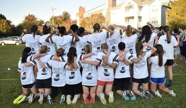 Beyoncé Powderpuff Football  T-Shirt Photo
