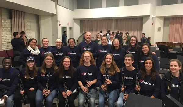 The Ucmb Clarinets Are Con Fusion T-Shirt Photo
