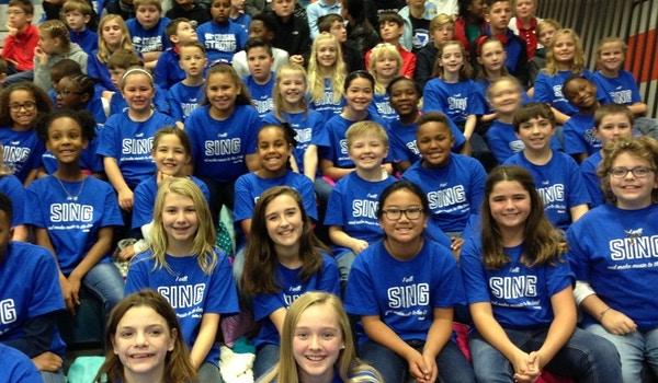 Elementary Choir T-Shirt Photo