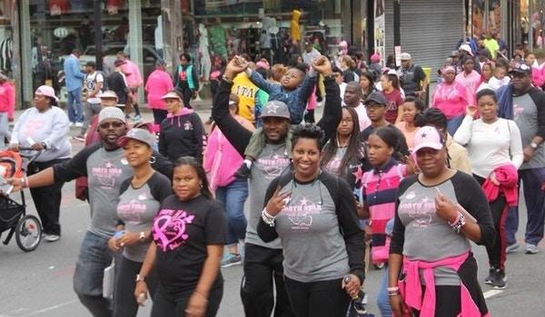 Tackling Breast Cancer T-Shirt Photo