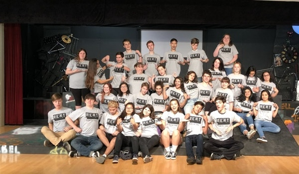 Cast And Crew Of Rent At Wghs T-Shirt Photo