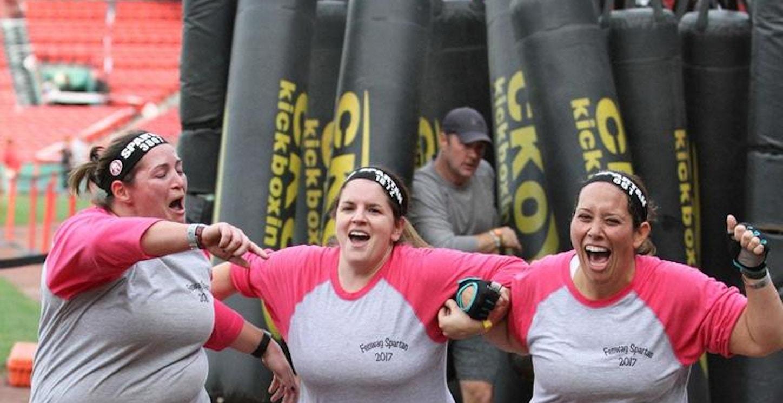 Fenway Park Spartan Sprint Finishers T-Shirt Photo