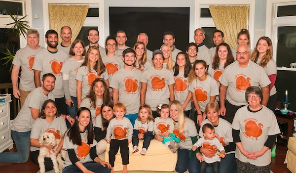 25 Years Of Thanksgiving Celebrations! T-Shirt Photo