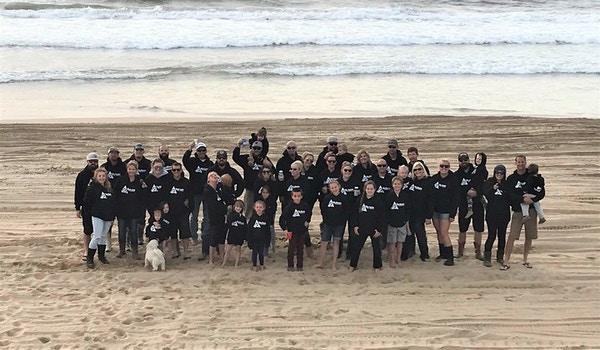 Friendsgiving 2017 Pismo Beach, California T-Shirt Photo