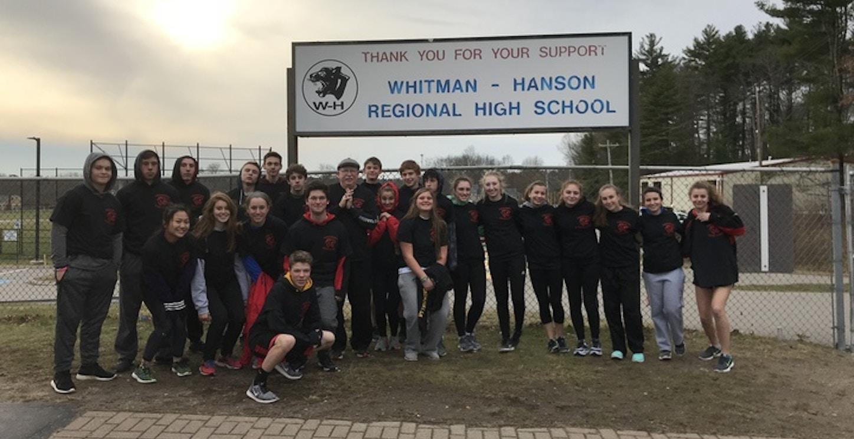 Whitman Hanson Indoor Track Team T-Shirt Photo