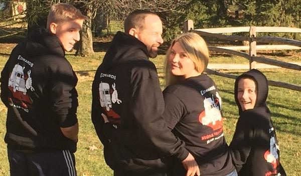 Edwards Family 2 T-Shirt Photo