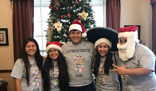 Showing Our Festive Spirits  T-Shirt Photo